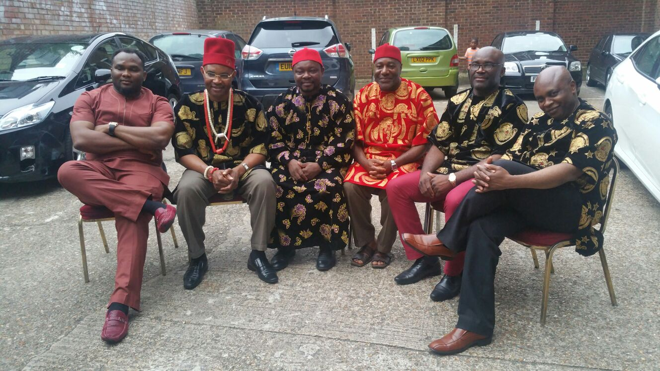 Cross section of Igbo Community London (ICL) Executive members image 0